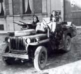 French SAS jeep