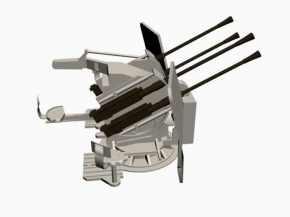 3D model 20mm Flakvierling 38