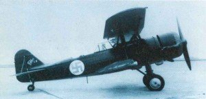 Dutch Fokker C.X two-seat bomber and reconaissance plane