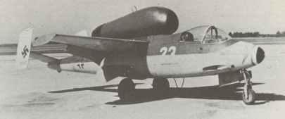 Heinkel 162 Volksjaeger of 3./JG1