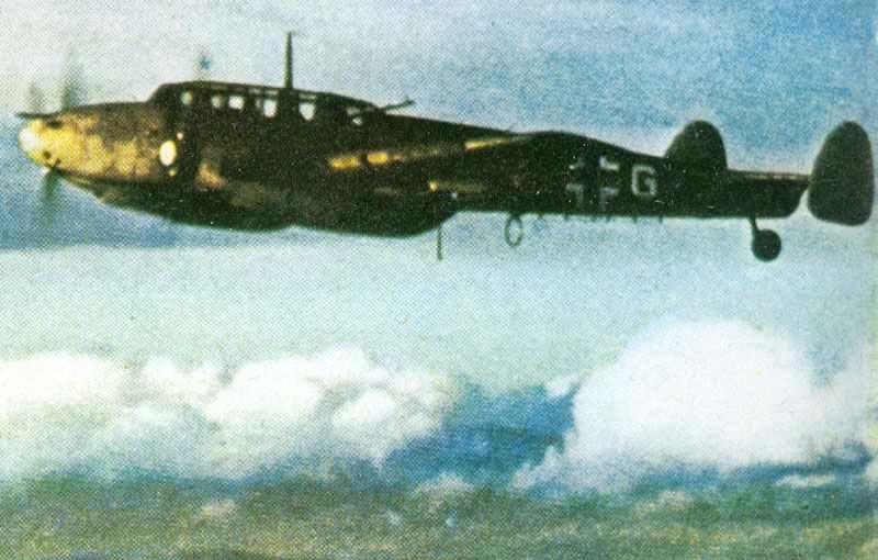 Me 110 D of ZG26