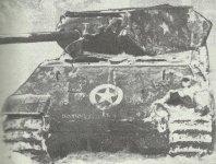 Panther tank as M10 tank destroyer