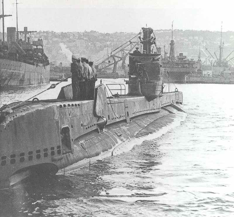 HMS Saracen returns to base