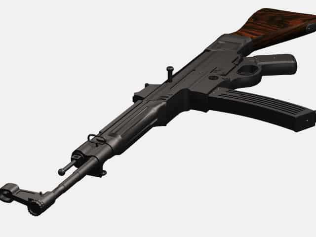 3d model of MP 44