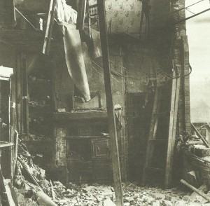 Damage in British ports