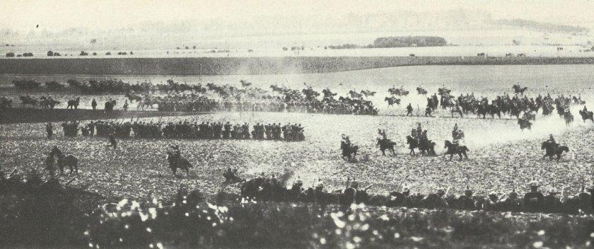 'Kaiser maneuvers' 1913 in Silesia