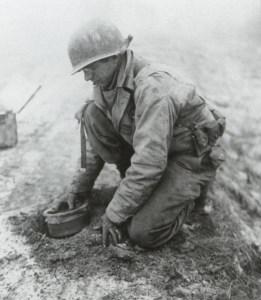 Mine-planting in Belgium