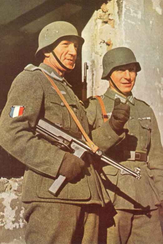 members of the French Legion on the Eastern front