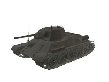 3D model T-34 M43