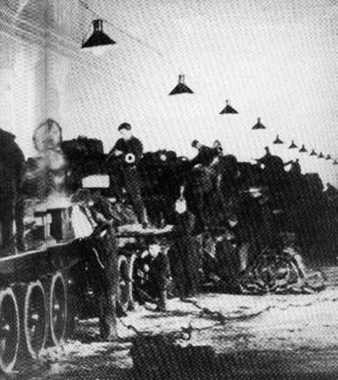 The Stalingrad tank factory before the battle.