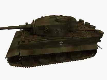 3d model of PzKpfw VI Ausf. E