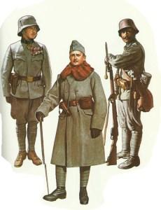Austro-Hungarian infantry 1915-1918