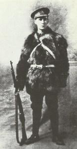 British infantrymen in winter 1914-15
