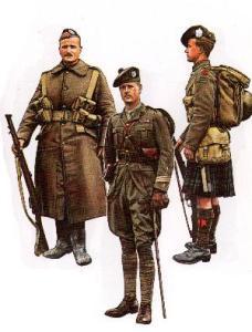 Scottish soldiers 1914-1918