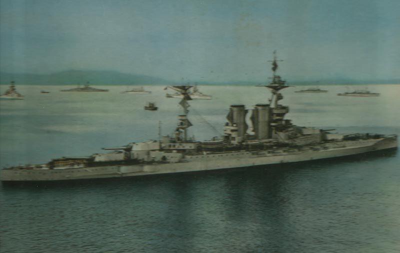 Battleship 'Barham'