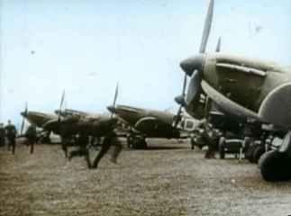 pilots were running to their Spitfires