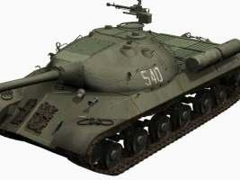 3d model of Stalin 3 tank