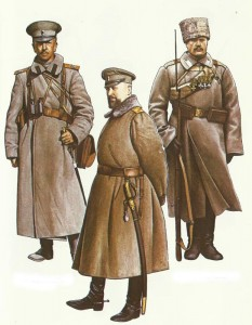 Russia officers 1914-1917