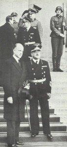 Sumner Welles in front of the Chancellery in Berlin