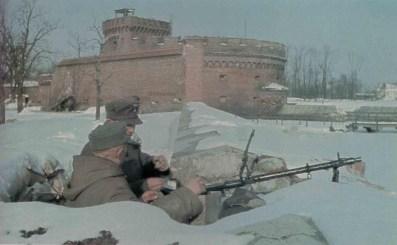 MG34 defense at Königsberg