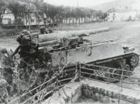 US M12 155mm self-propelled- gun