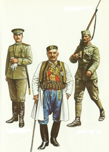 Montenegro Army 1914-1916