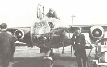 Arado Ar 234 B-2 atttached to 9th Staffel, IIIrd Gruppe of KG76
