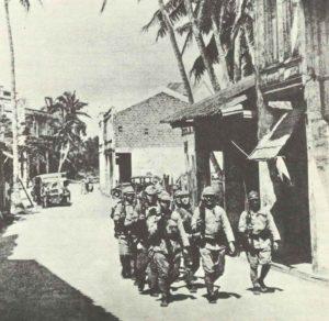 Japanese patrol on Guam