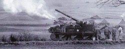 155mm M12 GMC near Hanau