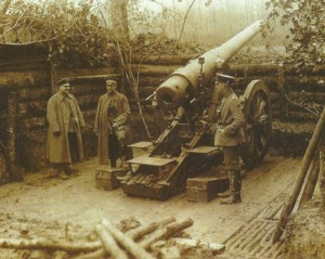 German Long 15 cm gun