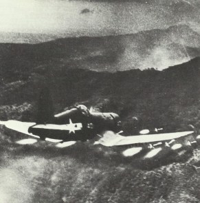 Corsair attacking positions