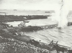 British pier at Cape Helles