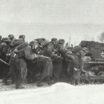 Under the cover of a Panzer I