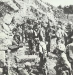 US command post on Okinawa