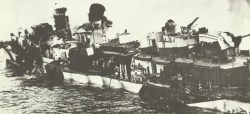 remains US destroyer 'Hazelwood'