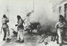 German anti-tank in action