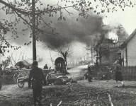 destroyed village in Franconia