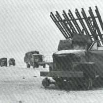 truck-mounted Katyusha