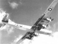 B-29 with ground scanning radar