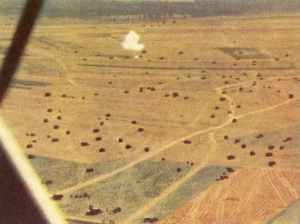 fine color aerial pictures from the beginning of Operation Blue