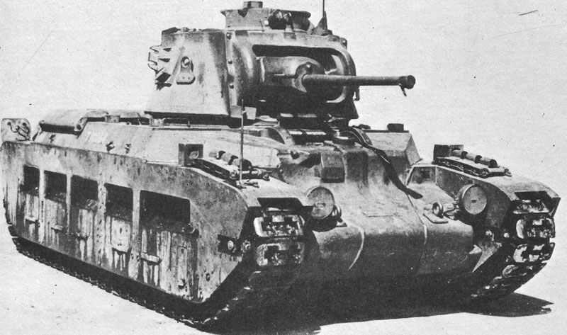 Infantry Tank Mk Ii  Matilda Mk Iii  U2013 Ww2 Weapons