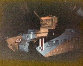 Matilda II tank in Imperial War Museum, London