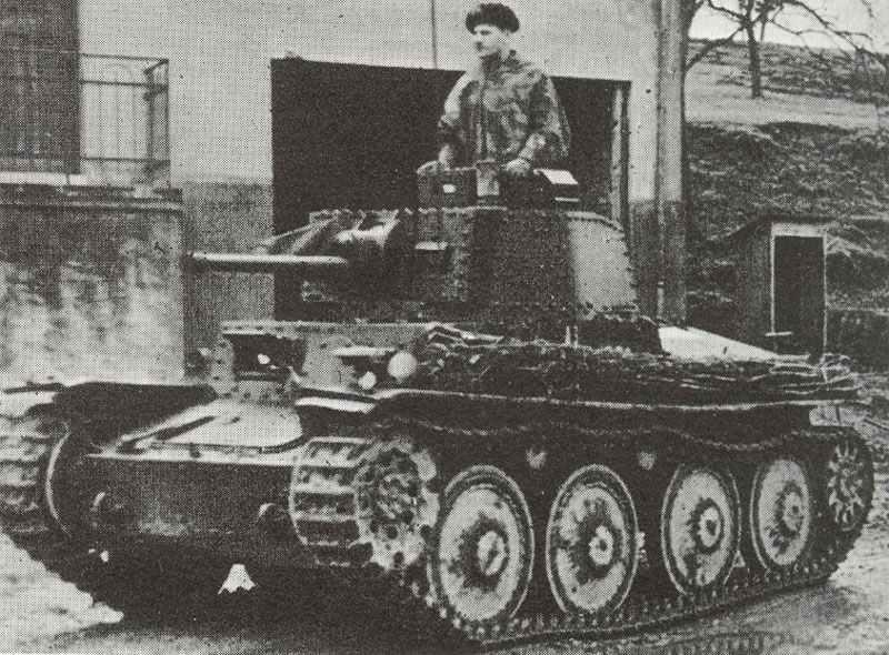 Panzer 38 (t) Ausf B or C