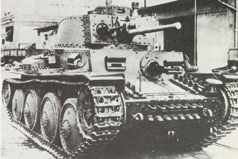 ew Panzer 38 (t) Ausf G