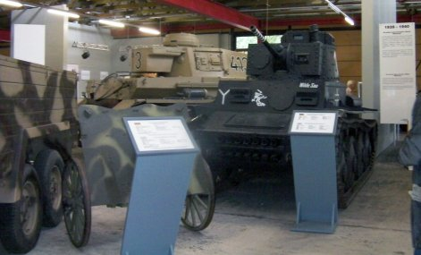 Panzer 38(t) in Panzer museum Munster