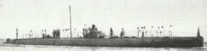 Italian submarine 'Medusa'