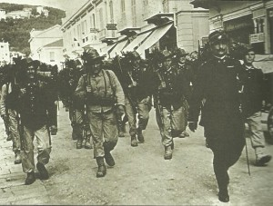 Italian Bersagliari infantry Isonzo