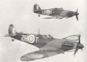 RAF fighter partnership that won the Battle of Britain