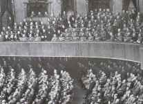Members of the Reichstag during Hitler's speech from 19 July