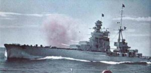 heavy cruiser of the Zara class